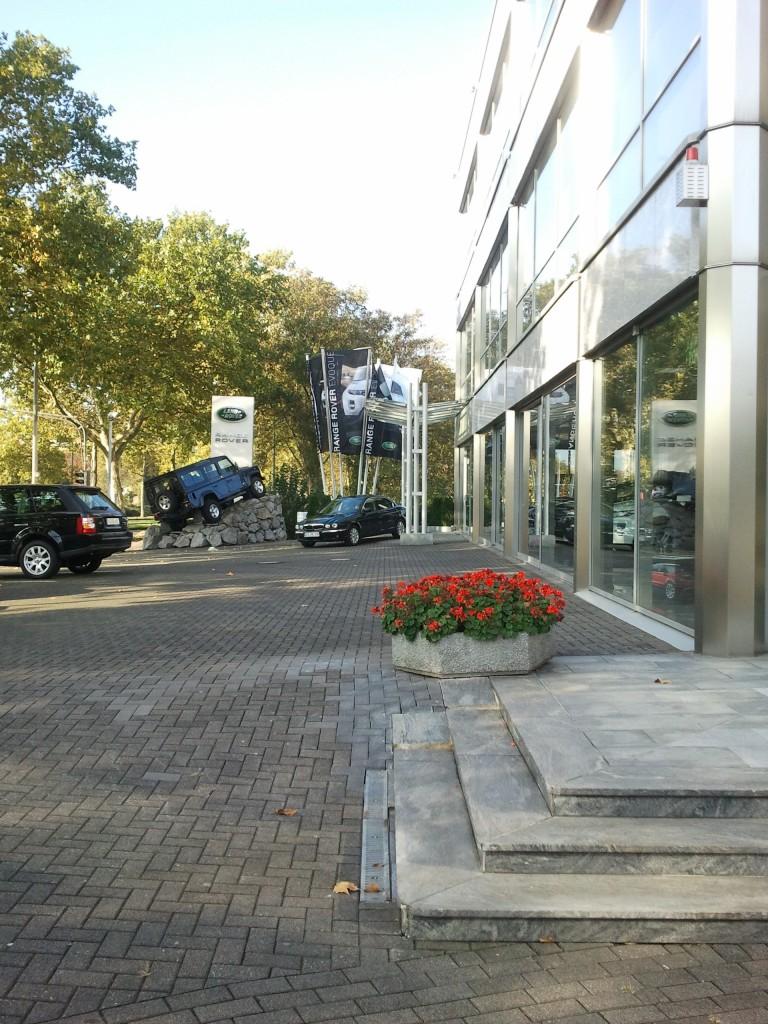 Mein Jaguar X-Type im Jahr 2011 unmittelbar vor der Übergabe beim Händler