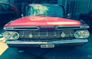 Front des 1959er Chevrolet Bel Air