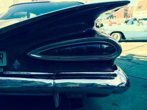 Größer geht nicht: Chevrolet-Heckflosse von 1959